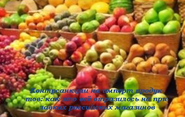 контрсанкции России, к чему приведут контрсанкции, санкции, импорт, продукты