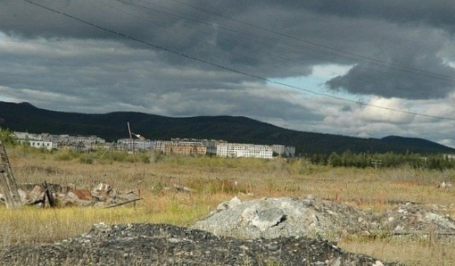 Кадыкчан, фотографии Кадыкчана, история Кадыкчана, заброшенные посёлки Магаданской области