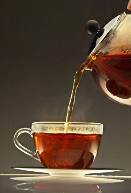 польза черного чая, черный чай