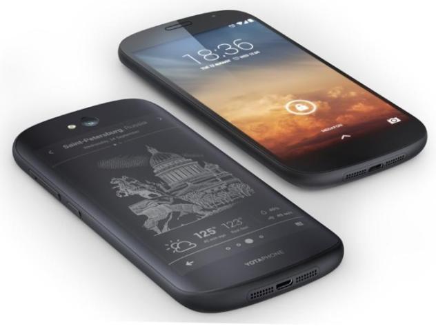 YotaPhone 2, цена на YotaPhone 2, Йота фон 2, характеристики YotaPhone 2