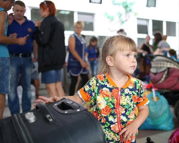 проблема с беженцами, помощь беженцам, беженцы из Украины
