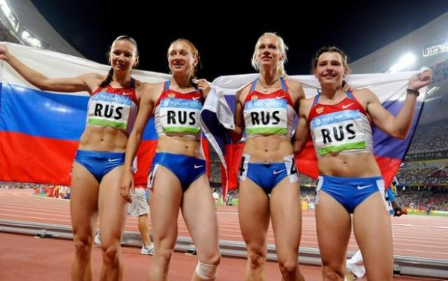 Olympics, team Russia, team Russia was deprived of the gold, the gold medal lost Russia