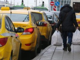Yandex taxi strike taxi drivers strike taxi drivers in Moscow, a strike of drivers Yandex taxi