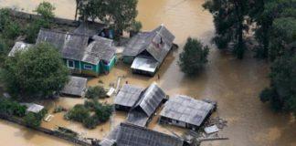 flood Primorye, floods in Primorsky region, flooding in Primorye, flooding in the Primorsky territory remain flooded village in Primorsky Krai, Primorye flood 2016