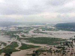 Lionrock Typhoon, flood Primorye, Primorye, flooded, flooding Dalnegorsk