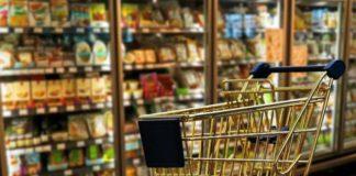 маркировка товаров, новые этикетки на товарах, Роспотребнадзор ввел новые этикетки для товаров содержащих много сахара и соли, красная лента на товаре, желтая лента на товаре, зеленая лента на этикетке товара, новая маркировка натуральных товаров