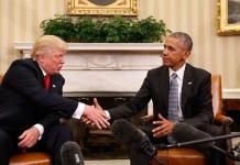 Обама и Трамп, встреча Обамы и Трампа, Трамп и Обама, встреча в Белом доме, как прошла встреча Обамы и Трампа, Барак Обама, Дональд Трамп