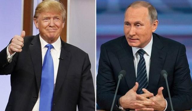 Дональд Трамп, Владимир Путин, Путин и Трамп договорились о встрече, телефонный разговор Путина и Трампа