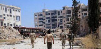 Алеппо, ситуация в Алеппо, ситуация в Сирии, погиб военный в Сирии, убит полковник в Алеппо, убиты российские военные в Сирии