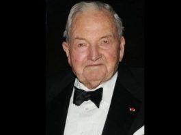 Дэвид Рокфеллер, умер миллиардер, первый долларовый миллиардер, список Forbes, умер Рокфеллер, кем был Рокфеллер, #ДэвидРокфеллер