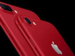iPhone, iPhone 7, iPhone 7 Plus, iPhone 7 red, iPhone 7 красный, новый iPhone, iPhone 7 Plus красный