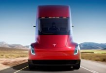 unmanned vehicles, electric truck, unmanned truck, truck electric train, Tesla, truck Tesla