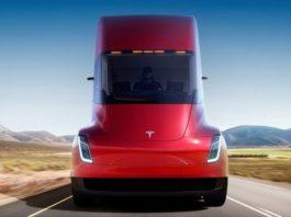 беспилотные автомобили, электрический грузовик, беспилотный грузовик, грузовик электричка, Tesla, грузовик Tesla