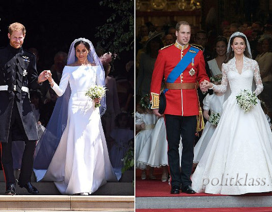 принц гарри, меган маркл, кейт мидлтон, принц уильям, золушки, принцы женившиеся на простых девушках, королевская семья, свадьба принца гарри и меган маркл