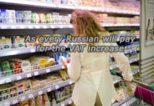 The VAT increase in VAT, which will be after the VAT increase is how much the Russians would pay for the increase in VAT, value added tax