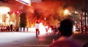 взрыв бомбы в Бангкоке, происшествие в Бангкоке, взорвали храм