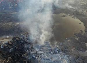 авария в Тяньцзяне, ЧП в Тяньцзяне, эвакуированы жители в Тяньцзяне, утечка цианида натрия