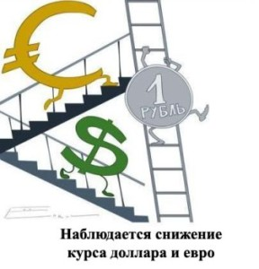 the depreciation of the dollar and the Euro