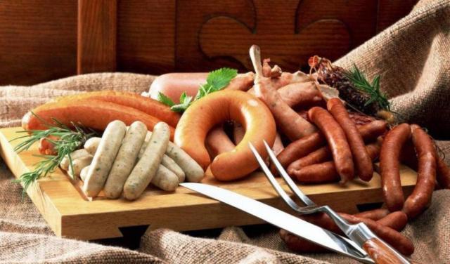 вред колбасы, вред сосисок, вред копченостей, колбаса вызывает рак, сосиски вызывают рак, причины рака, как выяснить вредность колбасы