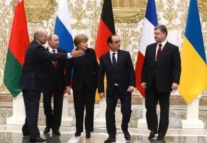Norman Quartet, meeting of the Norman Quartet, meeting in Minsk