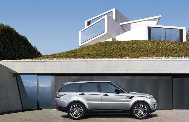 Land Rover Range Rover Sport, Land Rover Range Rover Sport 2017, Range Rover Sport обновление, рестайлинг Range Rover Sport, Range Rover Sport рестайлинговая модель