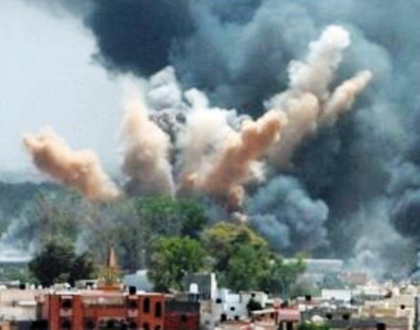 выкуумные бомбы, Сирия, конфликт в Сирии, развитие конфликта в Сирии, в СВирии применили вакуумные бомбы