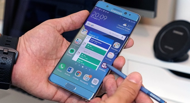 Samsung Galaxy Note 7, причины возгорания Samsung Galaxy Note 7, расследование взрывов Samsung Galaxy Note 7, взрыв Samsung Galaxy Note 7 видео, видео возгорания Samsung Galaxy Note 7