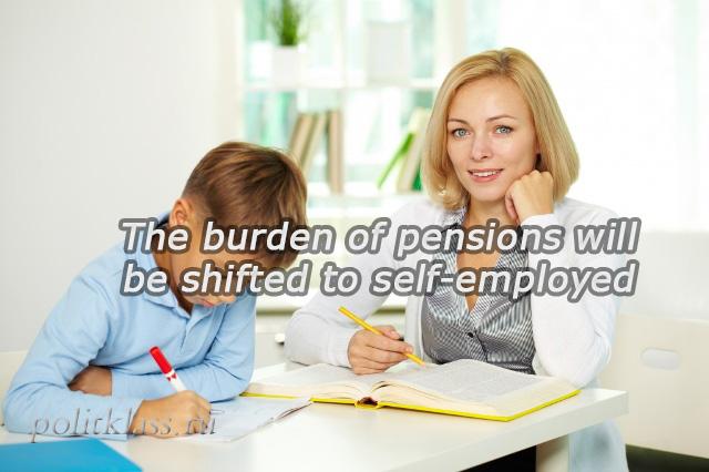 self-employed, taxes for self-employed, simplified tax regime for self-employed, pensions for self-employed